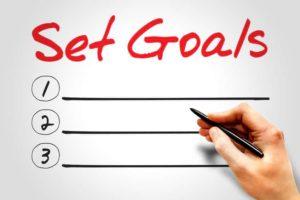 como establecer objetivos